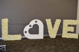 Blossom Events Hire letters