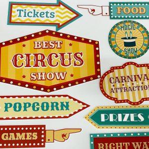 Brisbane Event Signage circus