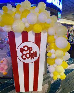 Brisbane Event Signage popcorn