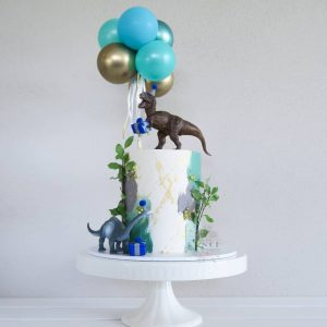 Cakes With Punch dinosaur