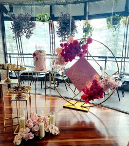 Cate Predestined Events flowers