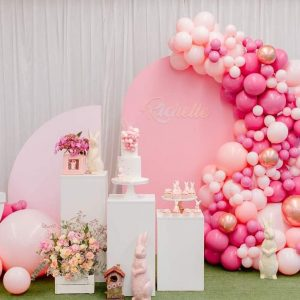 Curly Willow Event & Hire pinks