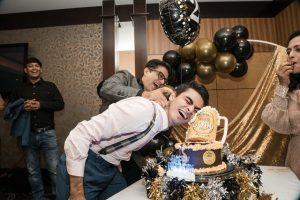 Elohim Studios cake