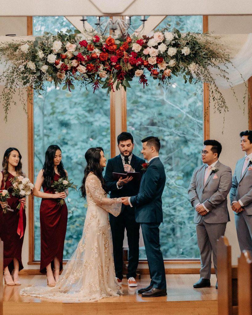 E.T Blooms wedding