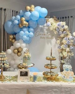 Gold Luxe Weddings & Events bridal shower