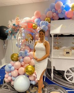 Gold Luxe Weddings & Events gender reveal