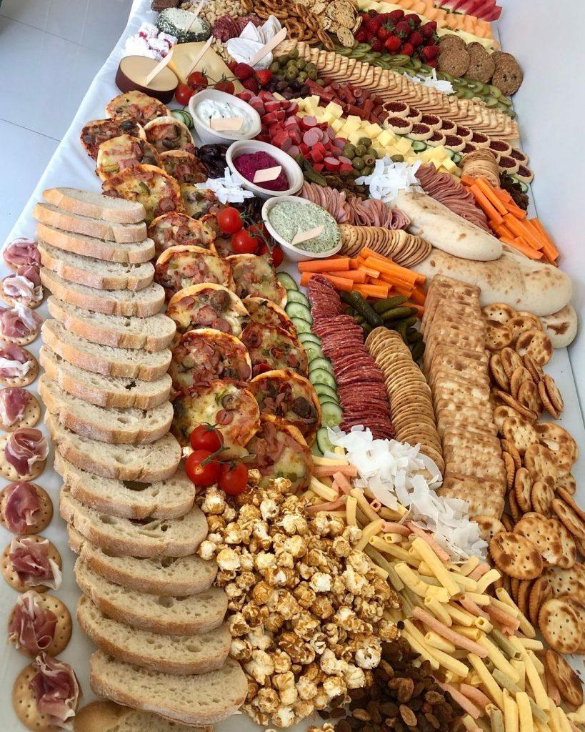 Graze World long platter