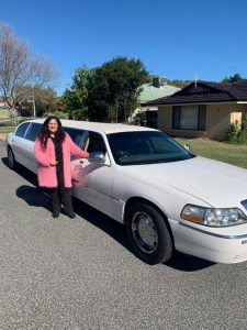 Helen Mansfield Wedding Services limo