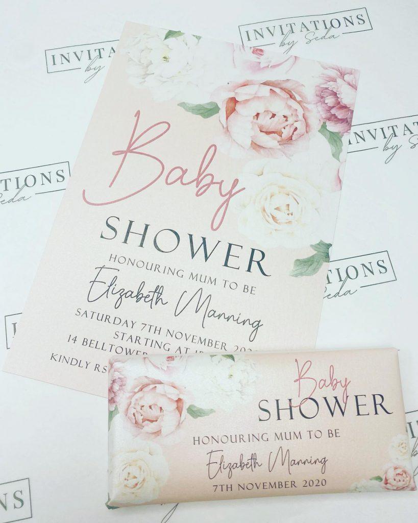 Invitations By Seda baby shower