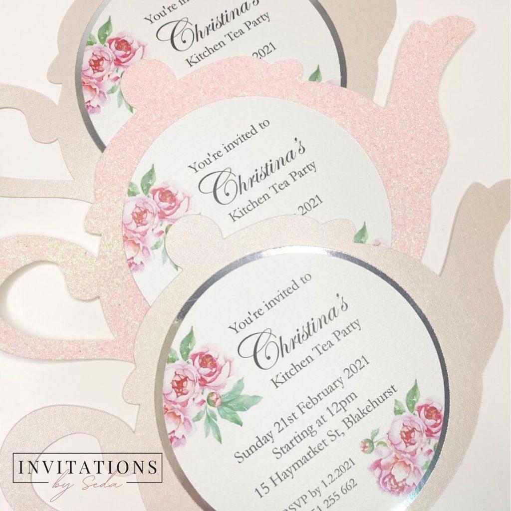 Invitations By Seda kitchen tea