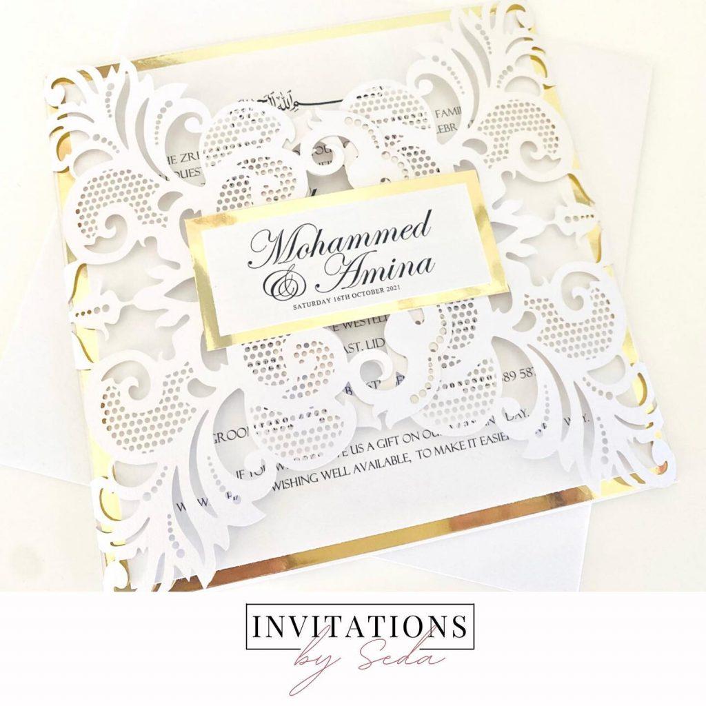 Invitations By Seda wedding