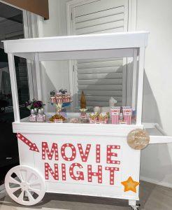 Lavish Props & Events candy cart