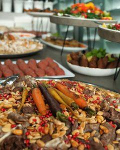 Little Jerusalem Catering Co spread