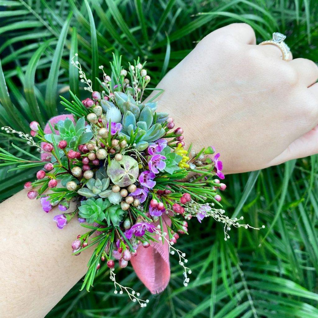 Miller Rose Botanic arm piece