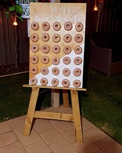 Party Items Hire Perth donut wall