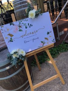 Planned With Love By Natasha signage