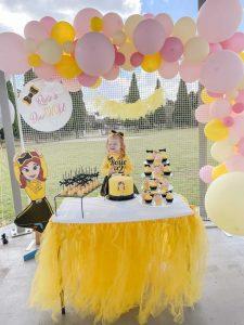 Polka Dot Affair table skirt