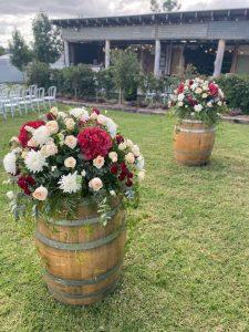 Redcliffe City Florist barrels