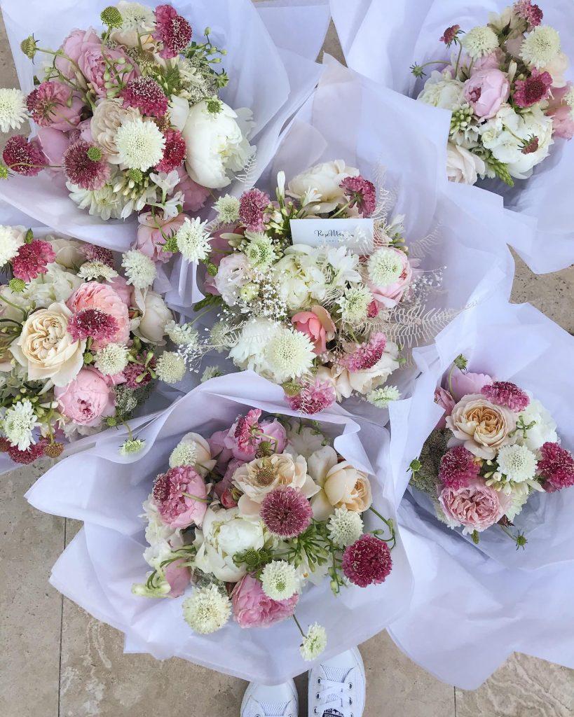RoseMary Florist bridal party