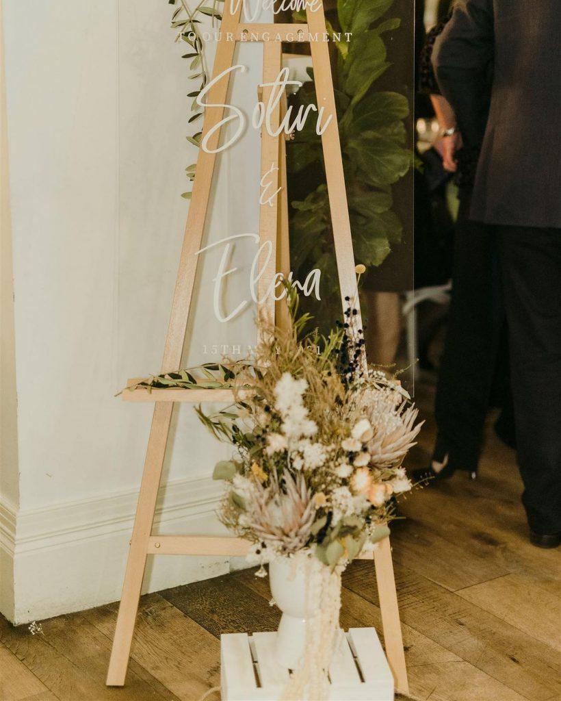 RoseMary Florist engagement