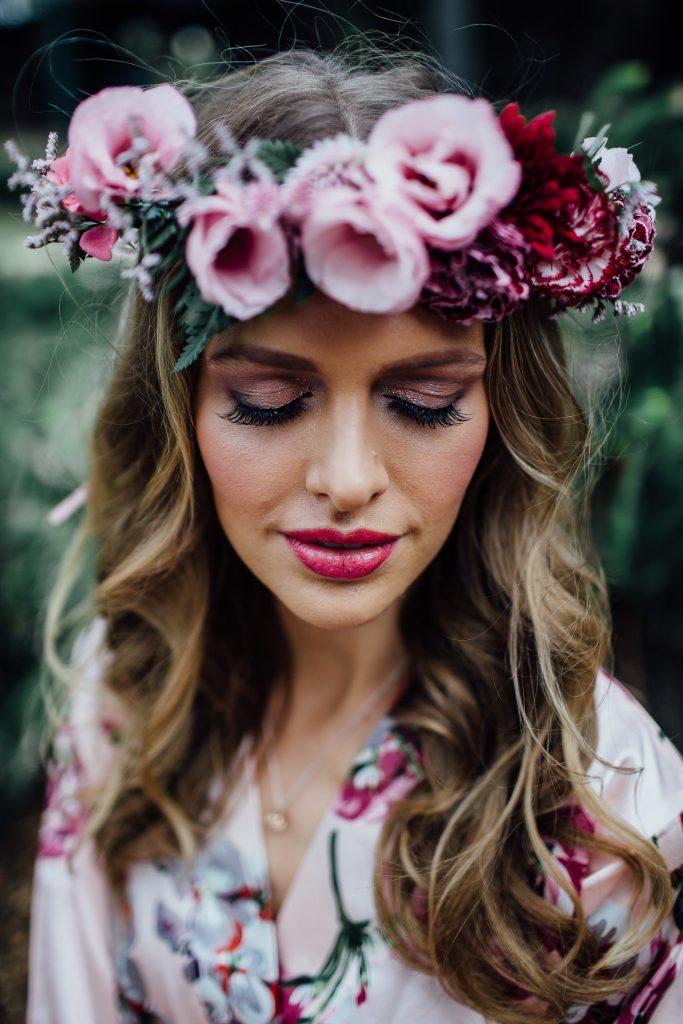 Sierra Blooms flower crown
