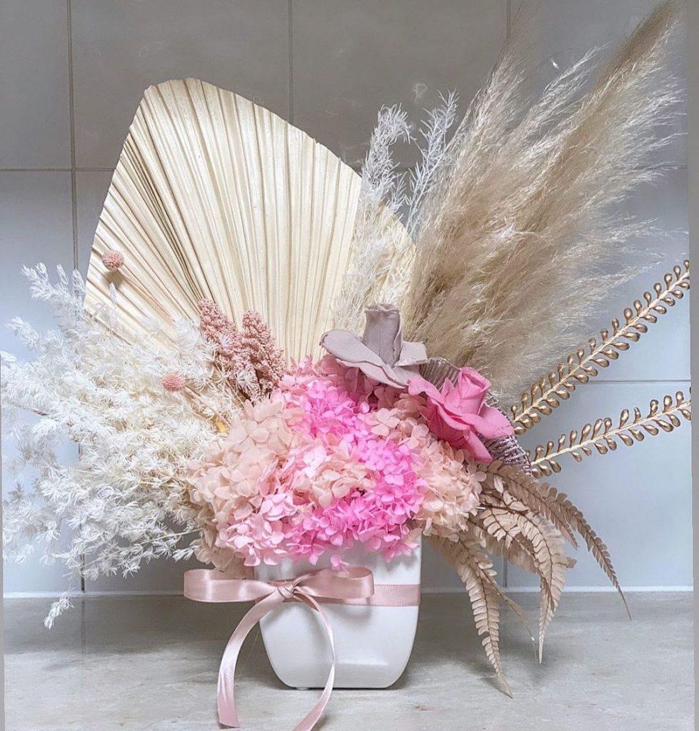 Siyah & Co Floral Arrangements pinks