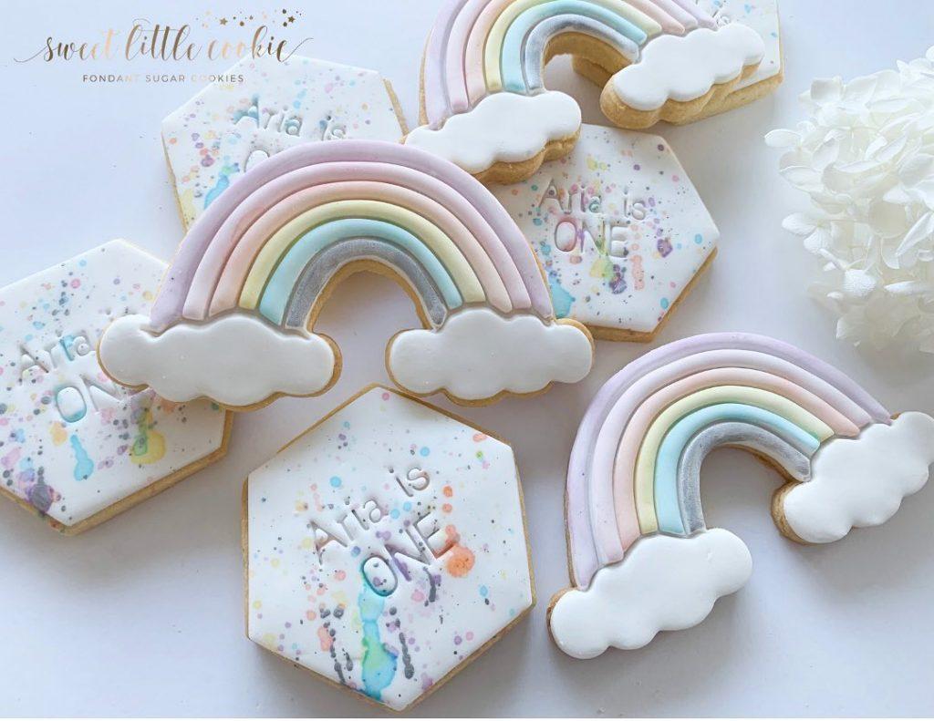 Sweet Little Cookie rainbow