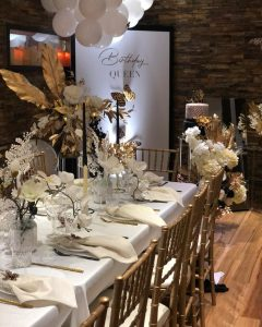 Sydney Event Styling 50th