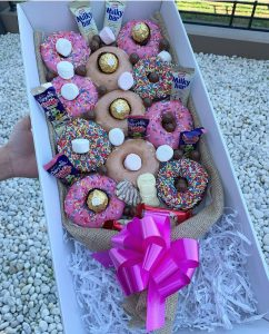 Sydney Gift Boxes donut bouquets