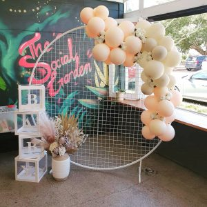 The Balloon Lady baby shower