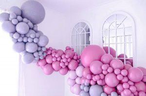 The Balloon Muse installation