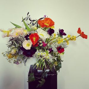 The West End Flower School glam