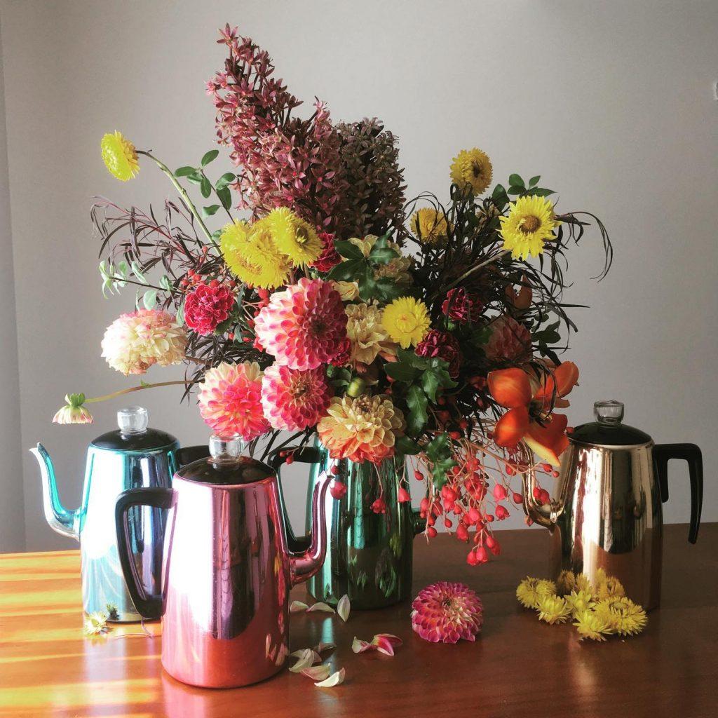 The West End Flower School kettles