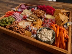 Young's Grazing Platters movie night