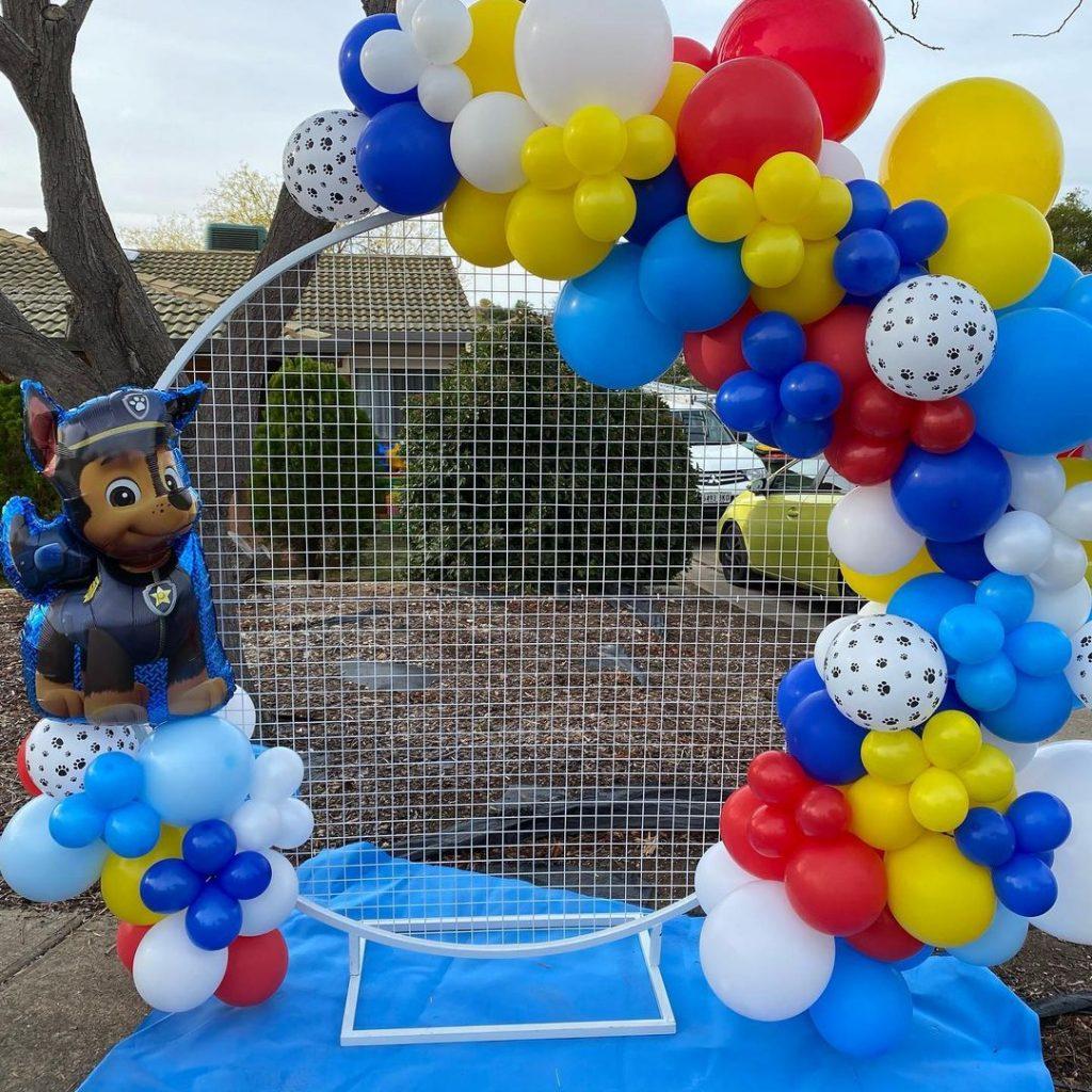 ABC Events & Balloons paw patrol