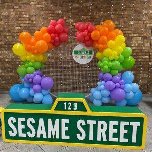 ABC Events & Balloons sesame street