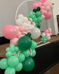 ABC Events & Balloons stage
