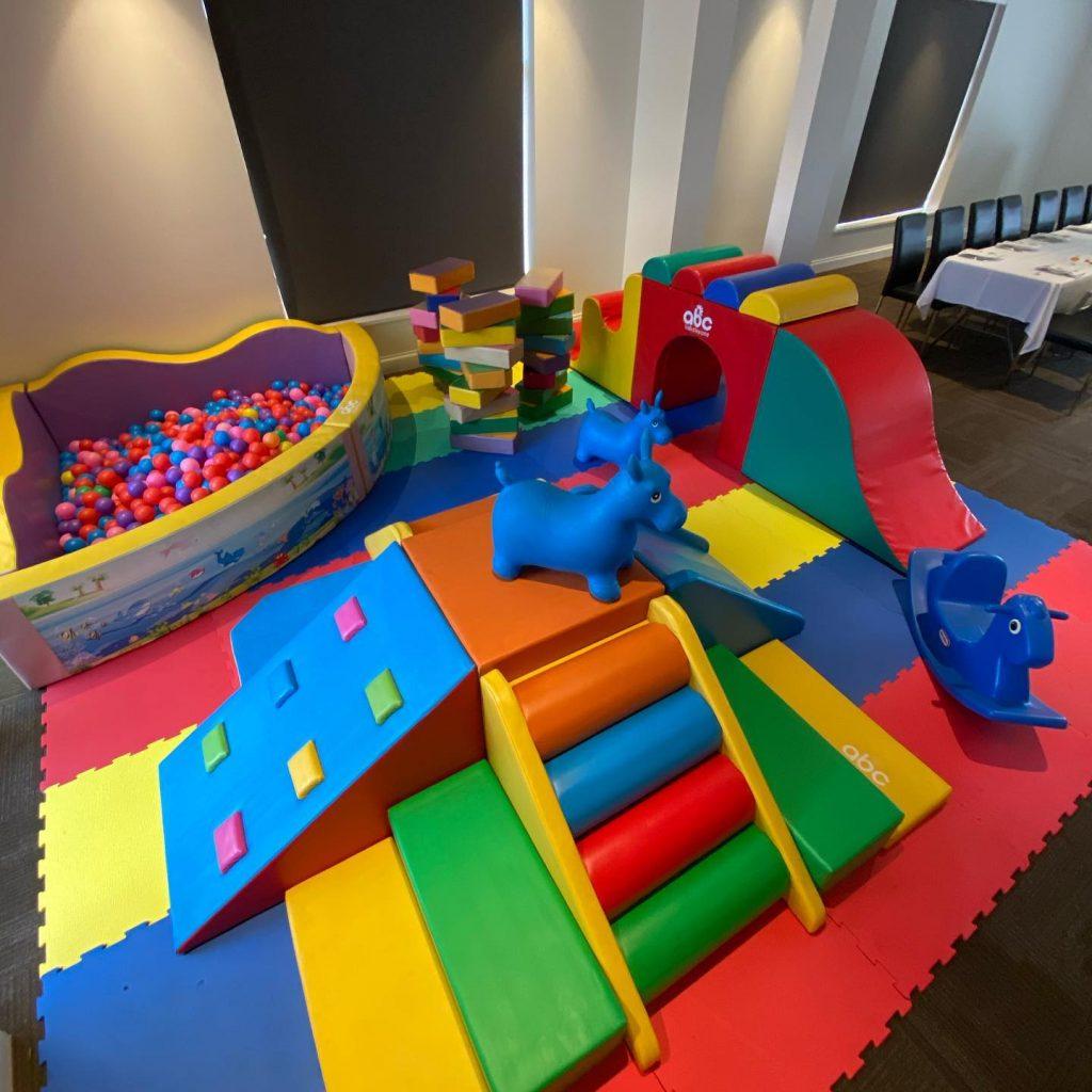ABC Kids Play Zone room