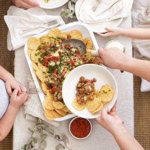 Agape Organic nachos