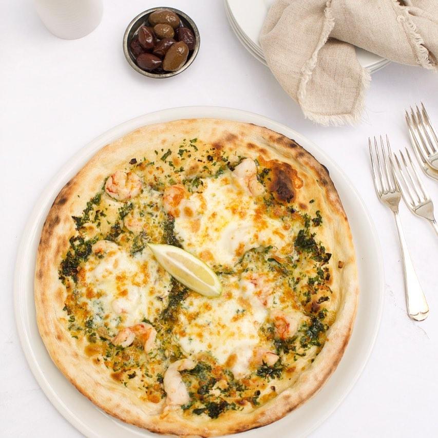 Agape Organic pizza