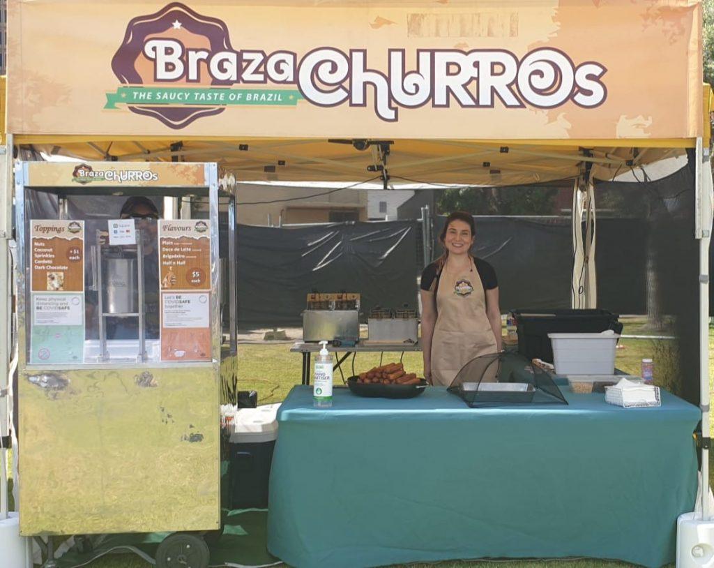 Braza Churros markets
