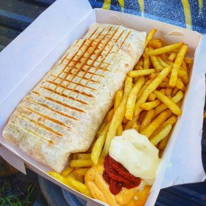 King Frenchy Street Food boxed