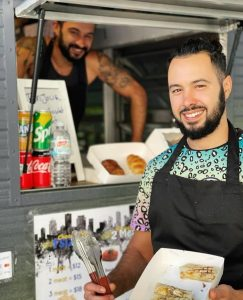 King Frenchy Street Food served