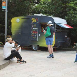 King Frenchy Street Food van