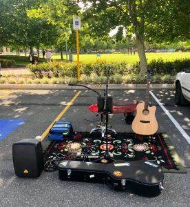 Logan Hunter Music setup