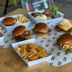 Mate Burger Food Truck burgers