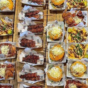 Mate Burger Food Truck delights
