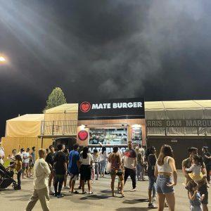 Mate Burger Food Truck night markets