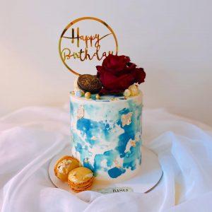 Riso Cakes & Desserts blue