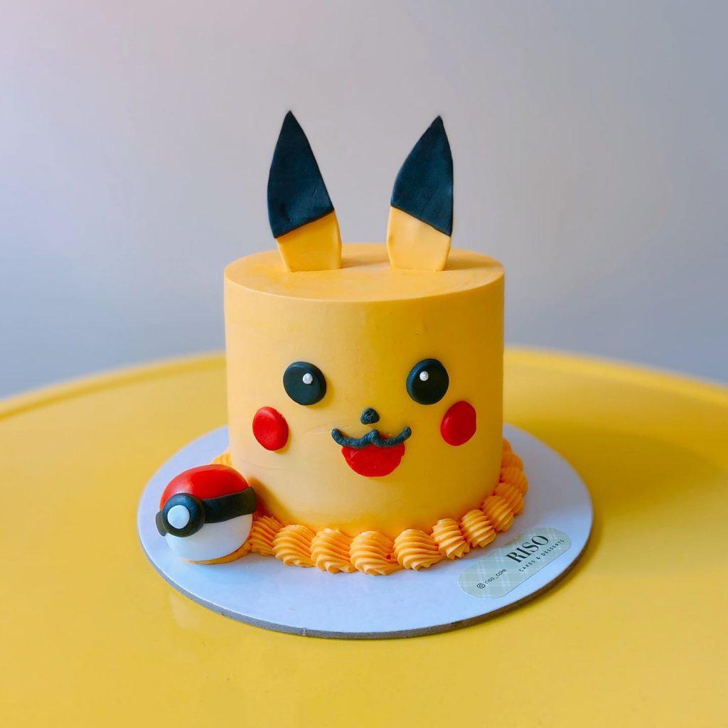 Riso Cakes & Desserts pikachu